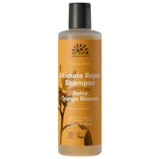 Urtekram Rise & Shine Ultimate Repair Shampoo - Spicy Orange Blossom, 250 ml