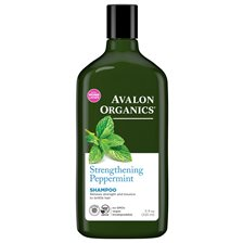 Avalon Organics Strengthening Peppermint Shampoo, 325 ml