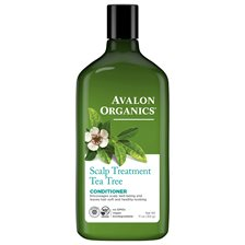 Avalon Organics Scalp Treatment Tea Tree Conditioner, 325 ml