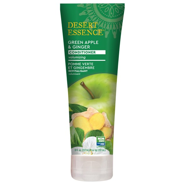Desert Essence Green Apple & Ginger Conditioner, 237 ml