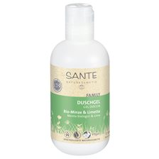 Sante Shower Gel Mint & Lime, 200 ml