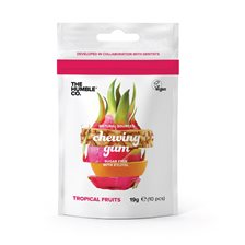 The Humble Co. Naturligt Tuggummi Tropical Fruits, 19 g