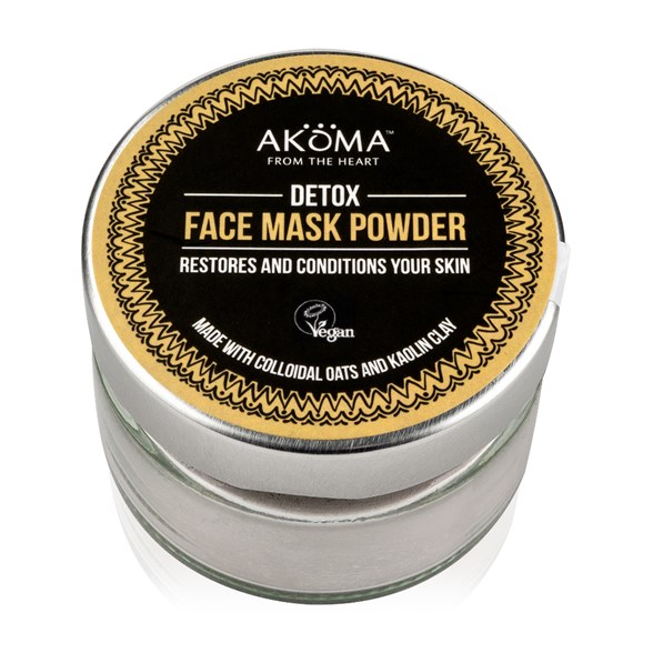 Akoma Detox Face Mask Powder, 55 g