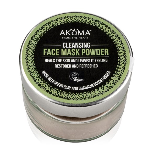 Akoma Cleansing Face Mask Powder, 55 g