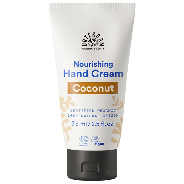 Urtekram Nordic Beauty Coconut Hand Cream, 75 ml