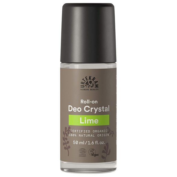 Urtekram Lime Deo Crystal Roll-on, 50 ml
