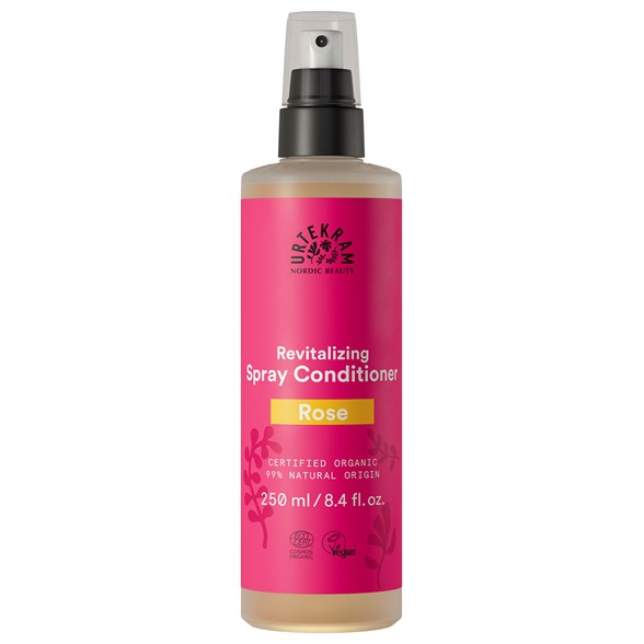 Urtekram Rose Spray Conditioner, 250 ml
