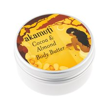 Akamuti Cocoa & Almond Body Butter, 50 ml