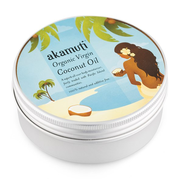 Akamuti Organic Virgin Coconut Oil, 175 g