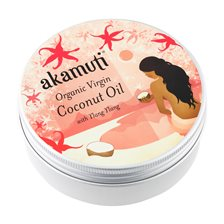 Akamuti Organic Virgin Coconut Oil with Ylang Ylang, 175 g