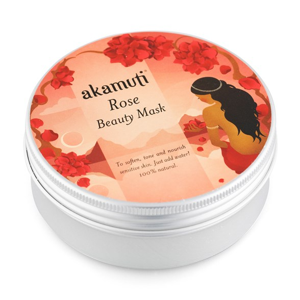 Akamuti Rose Beauty Mask, 100 g