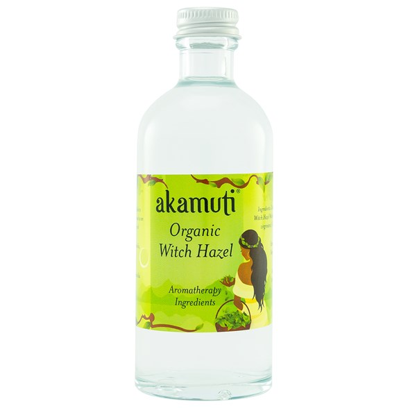 Akamuti Organic Witch Hazel, 100 ml