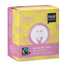 Fair Squared Apricot Hair Soap Sensitive Skin, 2 x 80 g