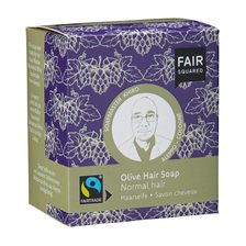 Fair Squared Olive Hair Soap Normal Hair, 2 x 80 g