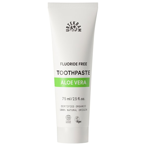 Urtekram Nordic Beauty Aloe Vera Toothpaste, 75 ml