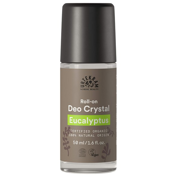 Urtekram Eucalyptus Deo Crystal Roll-on, 50 ml