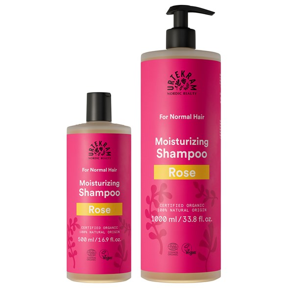 Urtekram Rose Shampoo Normal Hair