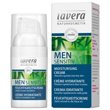 Lavera Men Sensitiv Moisturising Cream, 30 ml