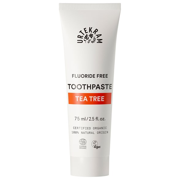 Urtekram Tea Tree Toothpaste, 75 ml