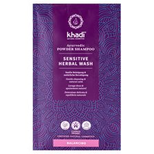 Khadi Sensitive Herbal Wash Ayurvedic Powder Shampoo, 50 g
