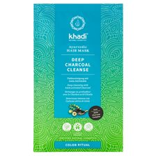 Khadi Deep Charcoal Cleanse Ayurvedic Hair Mask, 50 g