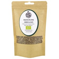 Powerfruits Ekologisk Oregano, 50 g