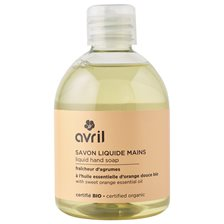 Avril Liquid Hand Soap Sweet Orange, 300 ml