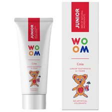 WOOM Junior Toothpaste Cola, 50 ml