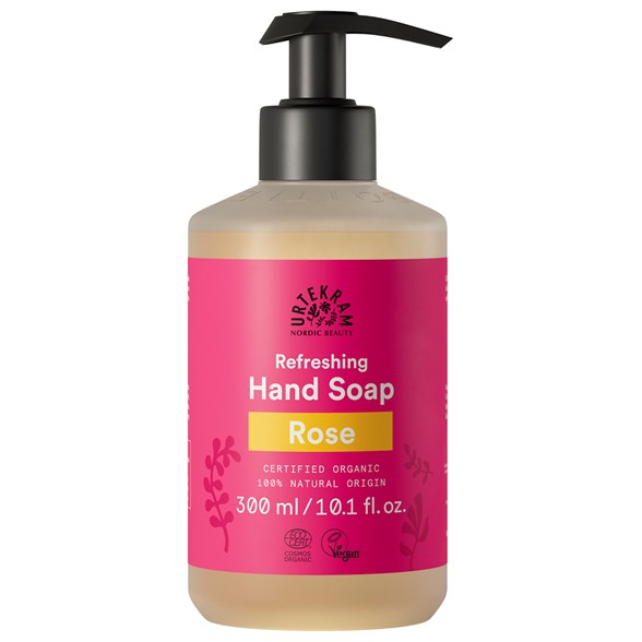 Urtekram Rose Hand Soap, 300 ml