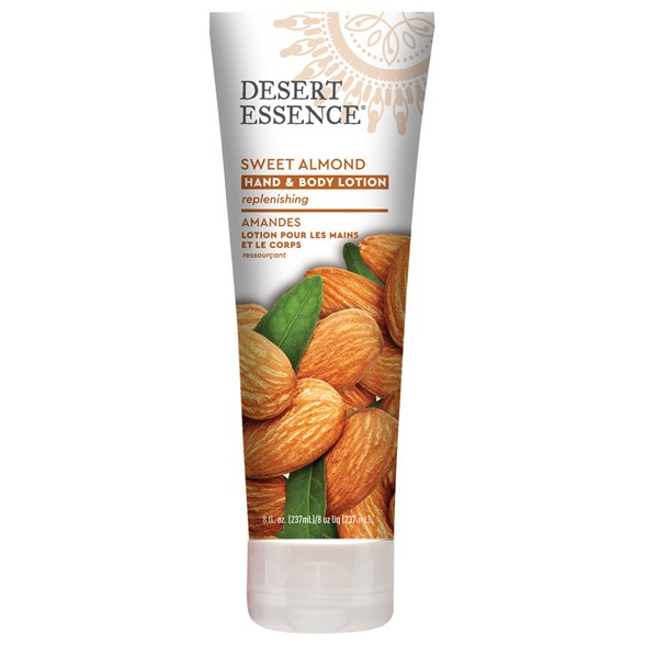 Desert Essence Sweet Almond Hand & Body Lotion, 237 ml