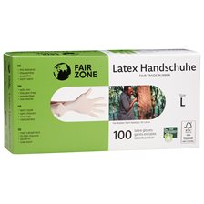 Fair Zone Tunna Latexhandskar, 100 st