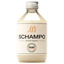 BRUNS Products Schampo nr 03 - Oparfymerat, 330 ml