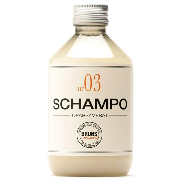 BRUNS Products Schampo nr 03 - Oparfymerat