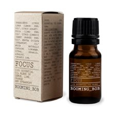 Booming Bob Eterisk Oljeblandning - Focus, 10 ml