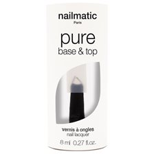 Nailmatic Pure Base & Top Coat 2-in-1, 8 ml