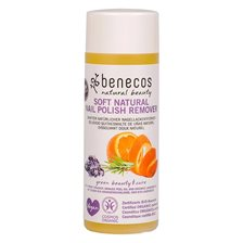 Benecos Soft Natural Nail Polish Remover, 125 ml