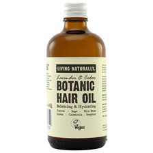 Living Naturally Botanic Hair Oil, 100 ml
