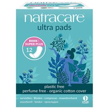 Natracare Ekologiska Bindor Ultra super plus, 12 st