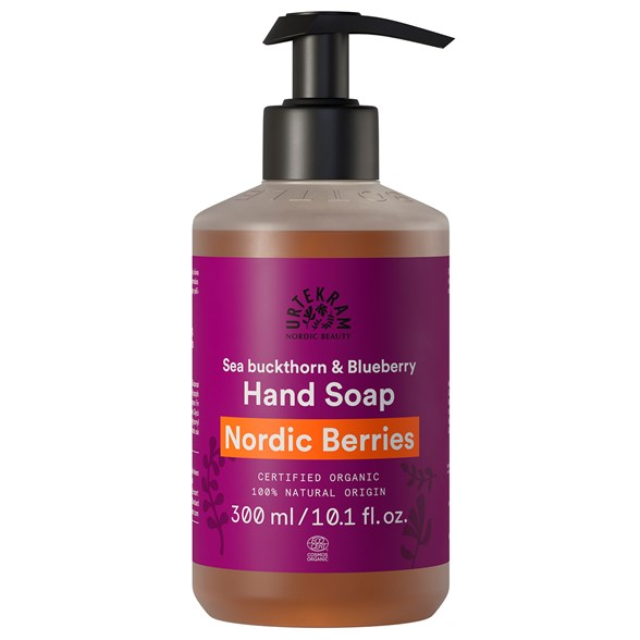 Urtekram Nordic Beauty Nordic Berries Hand Soap, 300 ml