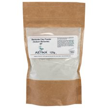 Akoma Bentonite Clay Powder, 125 g