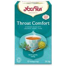 Yogi Tea Throat Comfort, 17 påsar