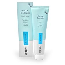 Kurin Natural Toothpaste Fluoride Free - Peppermint, 100 ml