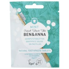 Ben & Anna Natural Toothpaste Tablets Fluoride Free - Mint, ca. 100 st