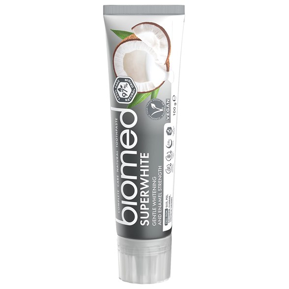 Biomed Superwhite Toothpaste with Coconut, 100 g