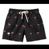 Oas Black Flamingo Swimshorts Junior