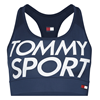 Tommy Hilfiger Medium Logo Sports Bra Dam
