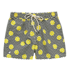 OAS Black Lemon Swim Shorts Herr