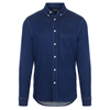 J.Lindeberg Indigo Soft Stretch Slim Shirt Herr