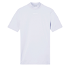 Calvin Klein Organic Cotton Mock Neck T-shirt Dam