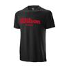 Wilson Padel Script Cotton T-Shirt Herr